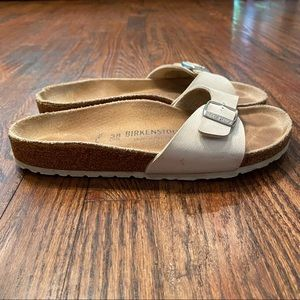 Birkenstock Cream Madrid Sandals